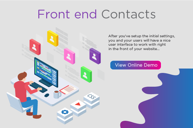 WP Contacts - Contact Management Plugin - 1